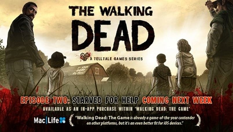 The Walking Dead Episode Two: Starved for Help hits iOS next week