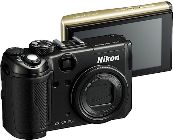Nikon's Coolpix S60, S710, S610 and P6000 with GPS get outed