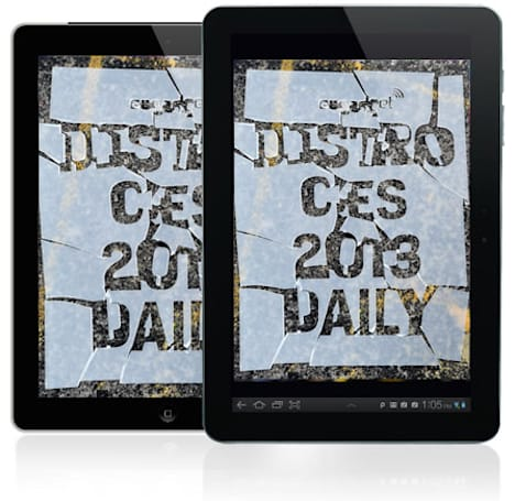 Distro's CES 2013 Daily Issue 73.4 is out and so are we