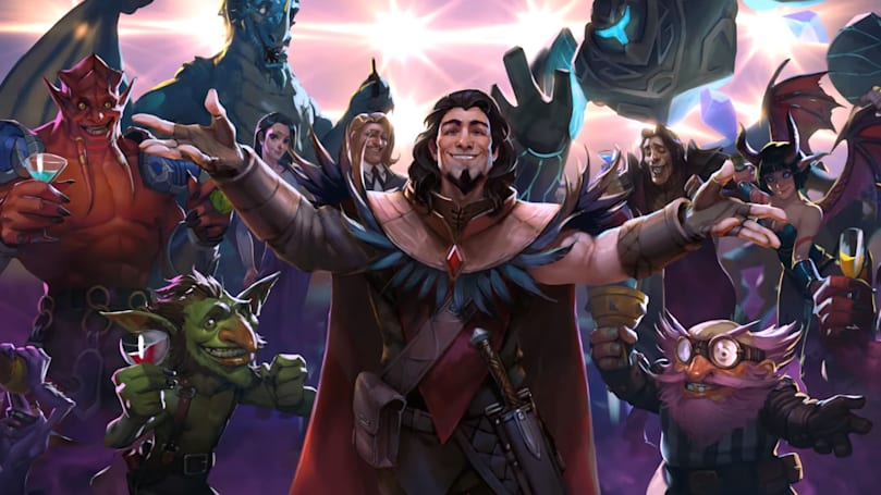 Blizzard's next 'Heartstone' adventure is a magical disco party