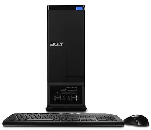 Acer rolls out space-saving Aspire X3, M3 series desktops