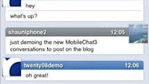 MobileChat now available in the App Store