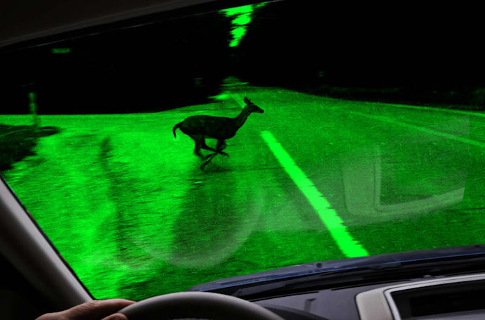 Graphene could bring night vision to phones and cars