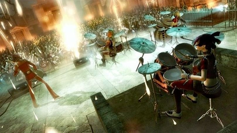 Guitar Hero 5 makes room for four drummers, axe slingers or screamers