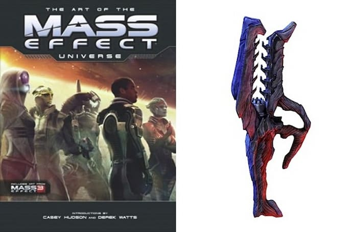 Pre-order a Mass Effect artbook for an in-game rifle on PC or Xbox