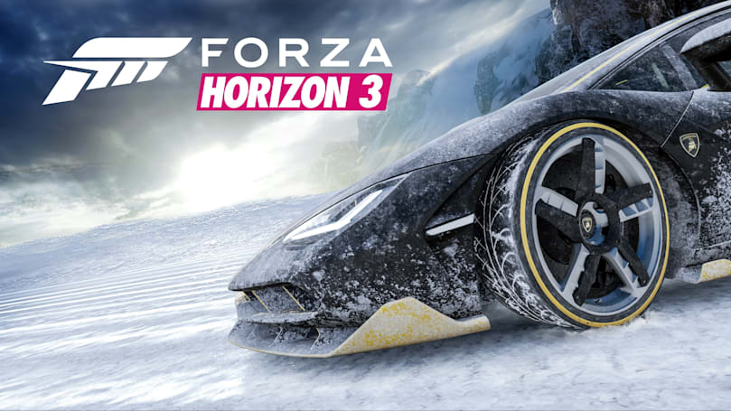 'Forza Horizon 3' weather forecast: snow and blizzards