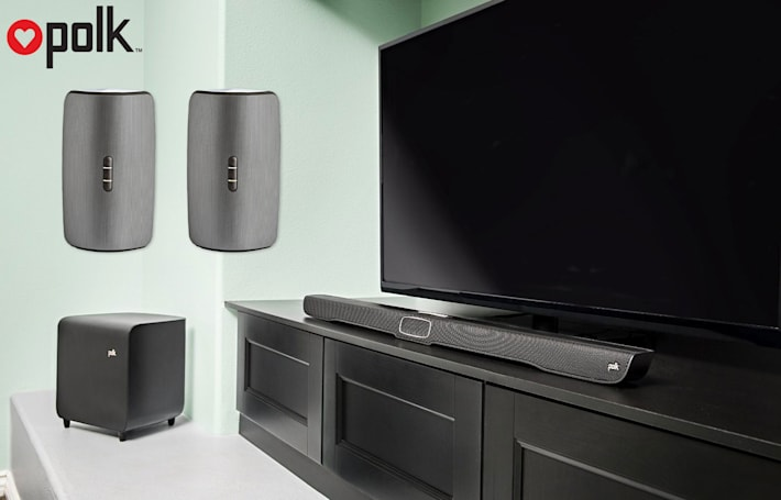 Engadget giveaway: Win a wireless surround sound system courtesy Polk Audio!