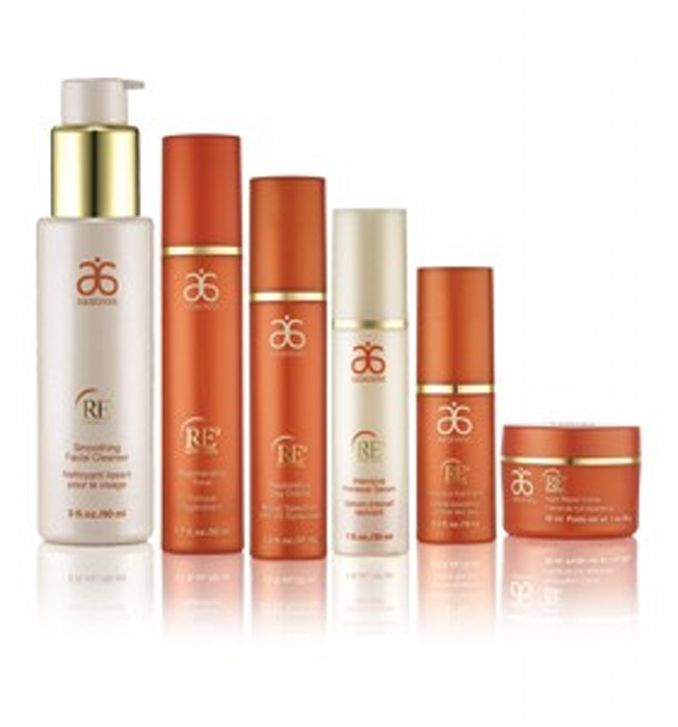 GIVEAWAY: Deluxe Arbonne RE9 Advanced skincare set