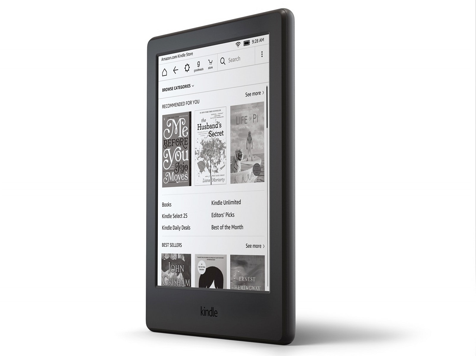 New Amazon Kindle, Very Much Like the One it Replaces