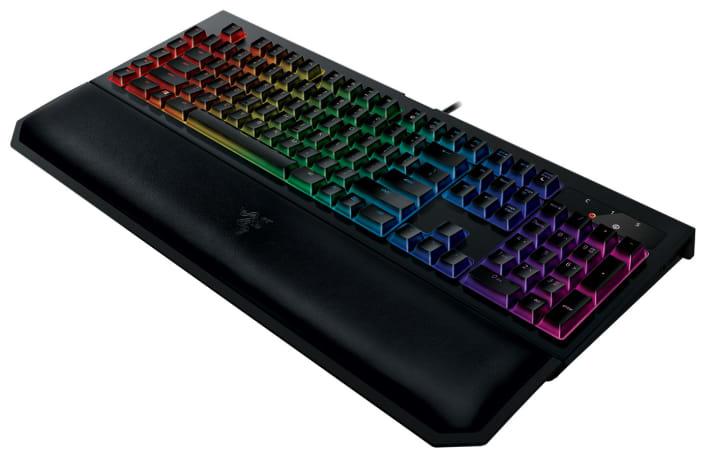Razer makes its Blackwidow keyboard quieter, more comfortable