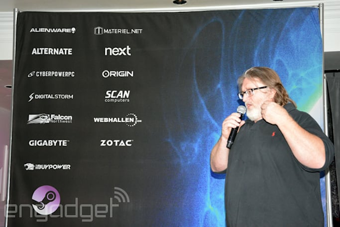 Here are all of Valve's Steam Machines from CES 2014, in specs