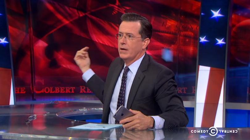 Video: Stephen Colbert loves woos his iPhone 6, breaks iPhone 5s heart