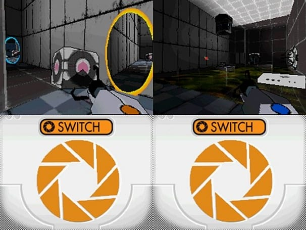 Portal goes portable with homebrew DS game Aperture Science