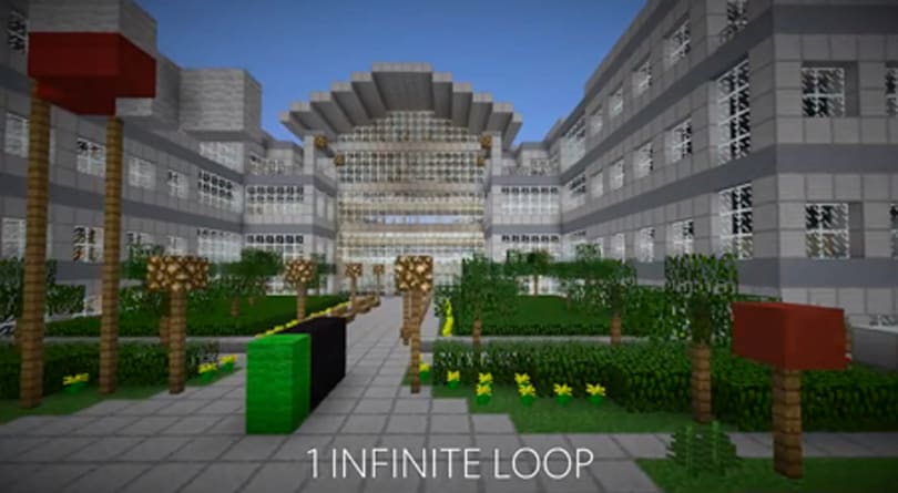 Apple's headquarters recreated in Minecraft is a sight to behold