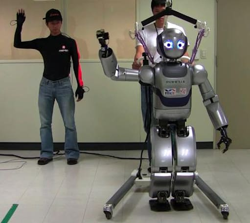 Mahru robot dances via telepresence, Kate Gosselin never had it so good (video)
