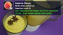 Well Fed Buff: Essence Mango