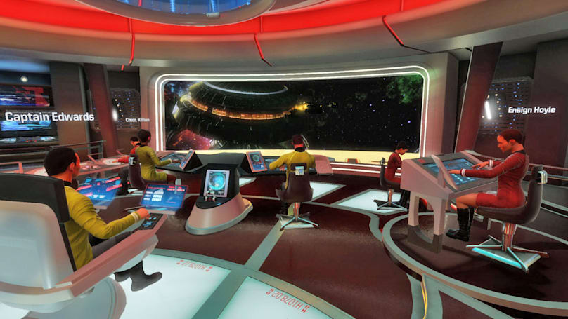 The 'Star Trek: Bridge Crew' VR game is delayed to March 2017