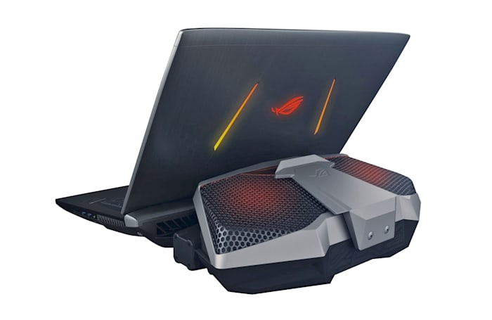 ASUS upgrades its crazy ROG liquid-cooled gaming laptop