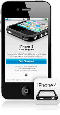 Apple begins iPhone 4 Case Program: apply for your free case or Bumper now