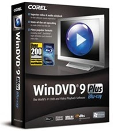 Corel WinDVD 9 Plus Blu-ray Update Pack ready for download