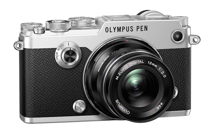 Olympus PEN-F camera takes you back in time with its looks