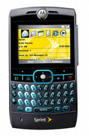 Sprint's Motorola Q left out of WM6 party?