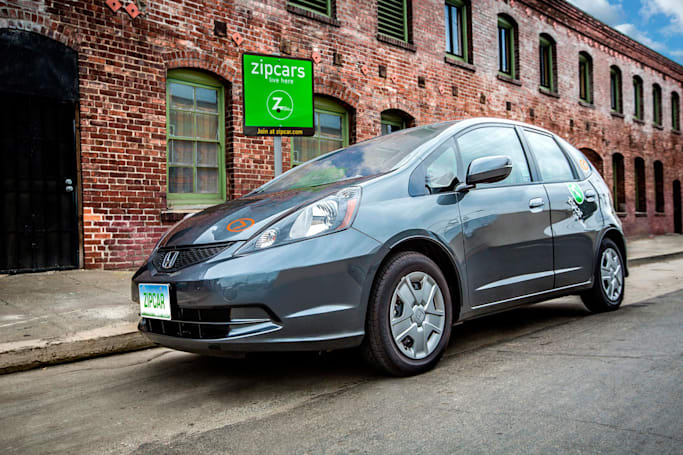 Zipcar tests pay-per-mile pricing system for short trips