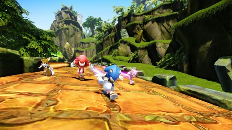 Sonic Boom Wii U has the guile to release a week early