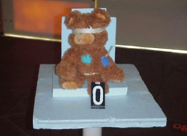Caption contest: Teddy bear torture -- the photographs the FCC didn't want you to see
