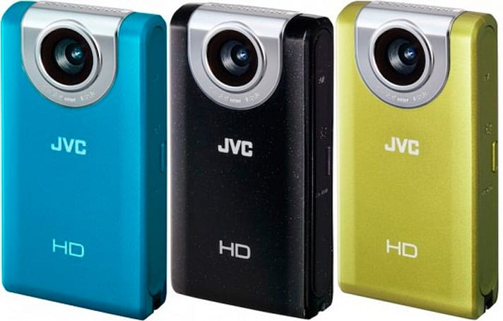 JVC intros Picsio GC-WP10 and GC-FM2 1080p pocket camcorders