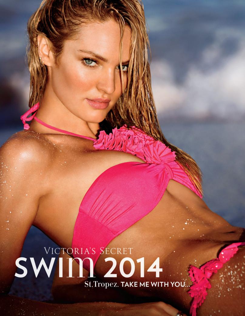 Candice Swanepoel covers Victoria's Secret swim 2014 issue
