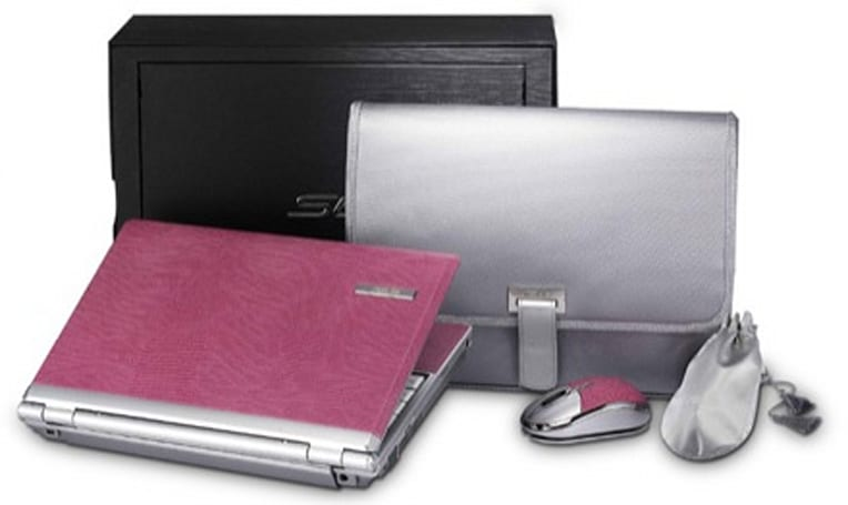 ASUS S6F 11.1-inch laptop, now in pink leather