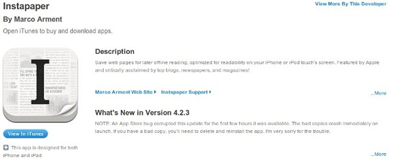 Apple aware of corrupt apps issue, working on a fix (Update: Fixed!)