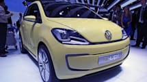 Volkswagen E-Up! concept rolls into Frankfurt, hits the road in 2013