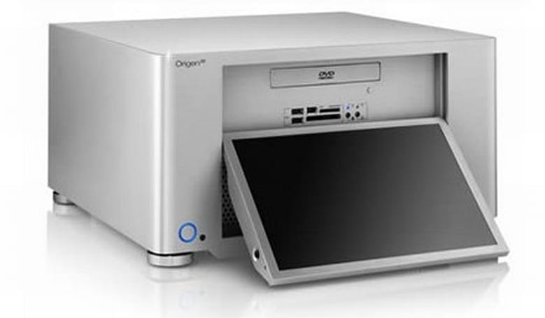 OrigenAE cranks out sexy 1080p LCD-equipped HTPC chassis