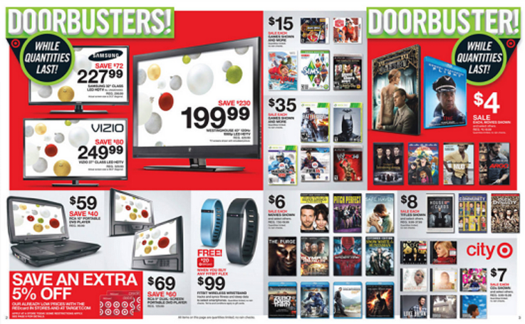 Target Black Friday preview: Hardware, headsets and games, oh my