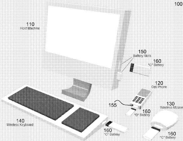 Apple gets patent for universal batteries, edges closer to long-lasting wireless peripherals