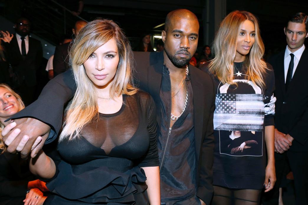 Kim Kardashian and Kanye West's surprising ensembles in Paris