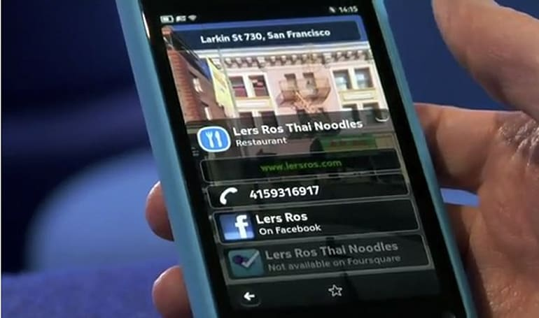 Nokia City Scene is Street View for your N9, mostly works in the US where you can't get one