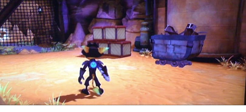 Previous Ratchet & Clank saves unlock bonuses in A Crack in Time