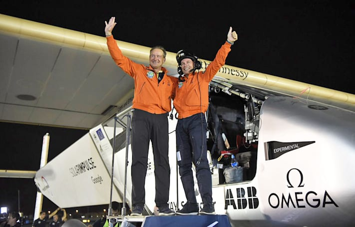 Solar Impulse completes its round-the-world journey