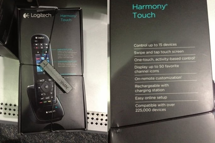 Logitech Harmony Touch remote pops up unannounced at Best Buy (Update: Pictures)