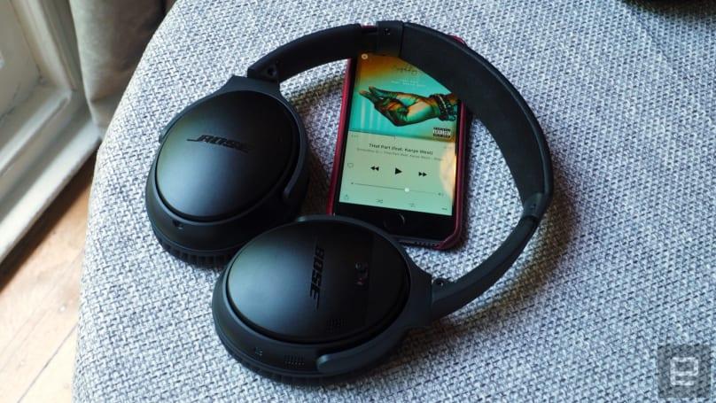 Bose goes wireless with the QuietComfort 35 headphones
