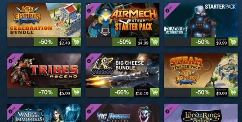 Steam Holiday Sale begins; MMO deals make gamers fear for their wallets