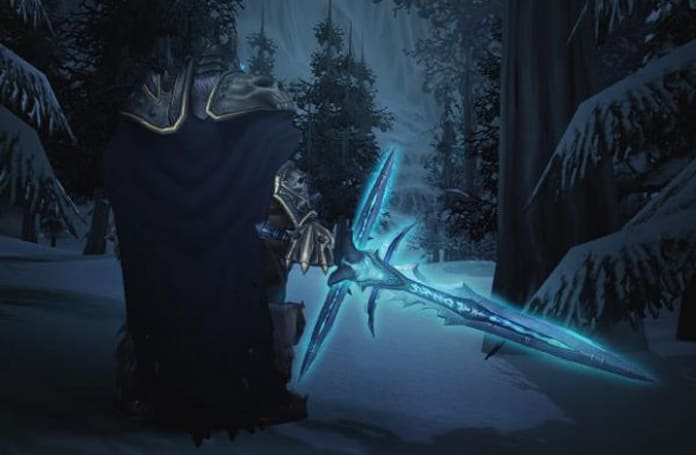 Arthas takes on the Sith in new image from Blizzard