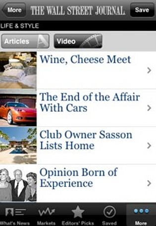 News apps for the iPhone span the political spectrum
