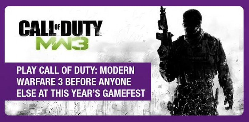 UK GAMEfest goes hands-on with Modern Warfare 3 this September