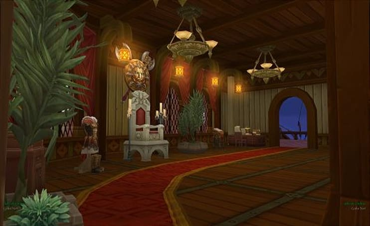 Allods Online gets fabulous with Astral ship interior design