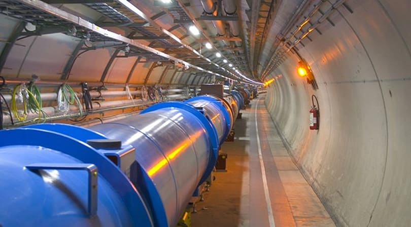 Large Hadron Collider to search for God Particle using 7 TeV proton collisions, via live webcast (update: first collisions, video!)