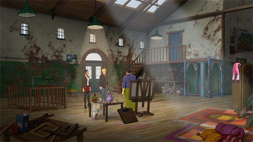 Broken Sword 5, Episode 2 out today on Windows, Mac, Linux